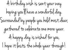 Sentimental 90th Birthday Wishes