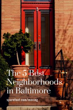 With more than 200 neighborhoods to choose from, deciding where to rent or buy a place in Baltimore can seem daunting. After all, where you choose to live will be key to your experience here. Baltimore Neighborhoods, America's Finest, Baltimore Maryland, Best Places To Live, City Living, Usa Travel, East Coast, Day Trips, Trip Advisor
