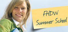23. - 27. Juli: Summer School an der FHDW in Bergisch Gladbach - Fachhochschule der Wirtschaft http://www.fhdw.de/