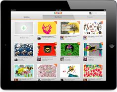 Mixel, Free Collage App for iPad by Mixel , via Behance
