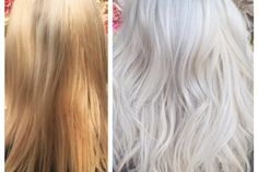 Halla Jajou (@hairbyhalla), of Sanctuary For Hair, Sydney, Australia, posted this photo that caught our eye. We had to know more about this transformation on this first time client who found Jajou on Instagram: Step 1: To the prelightened hair apply L'Oreal Professionnel Ammonia free platinium pink lightener + 20 volume, blended with Olaplex. Process for 20 minutes. Do not rinse.