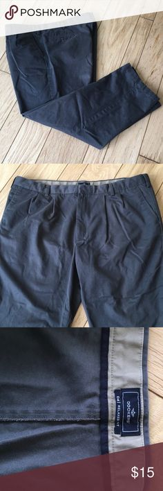 Men's Dockers Relaxed Fit Khakis Hardly ever worn.  This grey pair of Dockers is in great condition!  Non smoker home and I give bundle discounts! Dockers Pants Chinos & Khakis