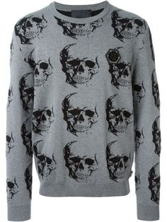 PHILIPP PLEIN 'Friday' Sweater. #philippplein #cloth #sweater