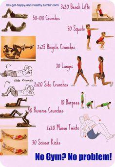 no gym-no problem :)