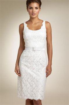 Ideas Fashion Spring Classy White Dress For 2019 Classy White Dress, White Lace Cocktail Dress, White Chic, Cocktail Gowns, Womens Cocktail Dresses, Trendy Dresses, Elegant Dresses, Nice Dresses, Country Dresses