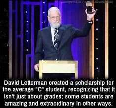 David Letterman...
