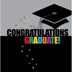 Grad Style Lunch Napkins (16 pack)