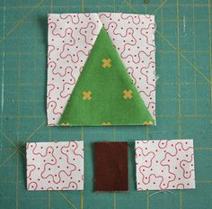 Fun and fast modern tree quilt block tutorial. Make your own personalized, imrpov wonky trees using your favorite fabrics. Quick cutting and assembly. Christmas Mug Rugs, Christmas Sewing, Christmas Crafts, Modern Christmas, Scandinavian Christmas, Christmas Christmas, Christmas Patchwork, Xmas, Tree Quilt Pattern
