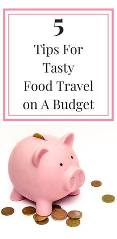 Want to learn how to travel and eat like a king on a pauper's budget? Check out our 5 tips on how to travel around the world and find the best food on a budget.  #budgettravel #foodtravel #frugaltravel