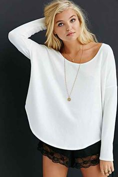 Oh So Cozy Tunic Top - Urban Outfitters