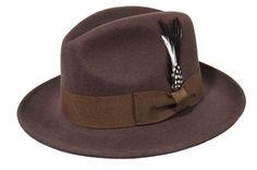 Indiana Jones Men's 100% Wool Felt Flat Wide Brim Fedora Hat Cowboy Dress Cap  #Epoch #CowboyWestern