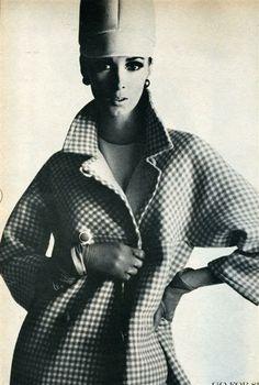 Wilhelmina Cooper - U.S. Vogue 1966