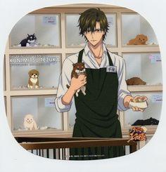 Tags: Anime, Konomi Takeshi, Production I.G., New Prince of Tennis, Tennis no Ouji-sama, Tezuka Kunimitsu, Holding Food