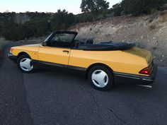 This 1991 Saab 900 SE Turbo Convertible is offered by the original owner and is powered by its factory 2.0L turbocharged inline-four paired to a 5-speed transmission. Service records dating back to the early 90's come with the car, along with the original owner's manual, spare and jack, pu