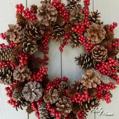 #CoronasNavideñas Coronas florales para decorar tu casa esta navidad