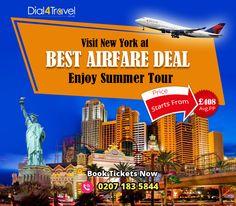 Best Airfare, Airfare Deals, Best Airlines, Cheap Airlines, Enjoy Summer, New York, Tours, Pocket, New York City