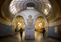 The most impressive underground railway stations in Europe - Telegraph - Heidelberger Platz station in Berlin  Picture: ODD ANDERSEN/AFP/Getty Images