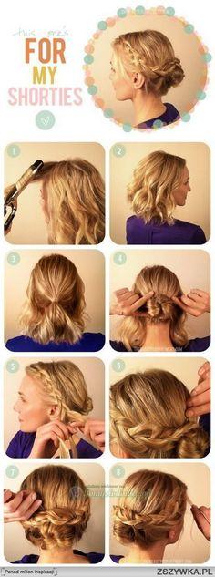 Upięcia włosów krótkich                                                                                                                                                                                 More