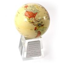 Mova Globe with Crystal Base Wonderful Corporate gift Engraved Wedding Gifts, Engraved Gifts, Earth's Magnetic Field, Corporate Gifts, Christmas Shopping, Fundraising, Back To School, Base, Crystals