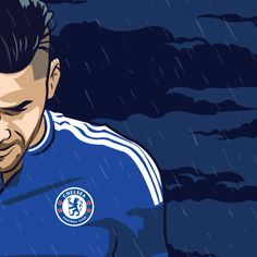 Tough times for Falcao at Chelsea. (Work in progress)