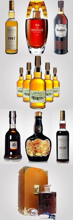 The 10 most expensive and exquisite #Whiskies in the world