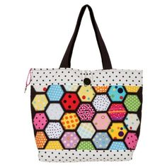 Sew the Stained Glass Tote Bag