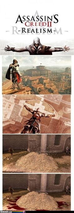 Assassin's Creed hay bail jump