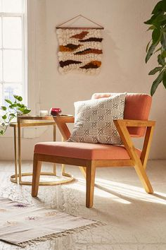 Tyler Mid-Century Chair - Urban Outfitters