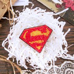 Брошь Супергерой от sorokashop. Brooch Superhero from sorokashop. Ручная работа. Handmade.
