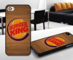 Berger King logo for iPhone 5 Black case | iPhoneCustomCase - Accessories on ArtFire