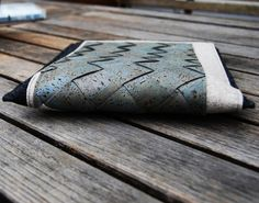 ipadhuelle28, Ipadhülle aus Kork, nadelundfarben, Naturmaterial, handarbeit, Unikat