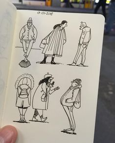 """68 Likes, 2 Comments - The Heart of Jeremy Hoffman (@theheartofjeremyhoffman) on Instagram: """"Morning warm up sketches: """"drawing from life"""" sketches... at the train station... ✏️ #drawing…"""""""