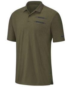 Nike Men s Denver Broncos Salute To Service Polo - Green M 404e14d62