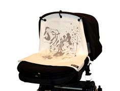 Kurtis Baby Peace is an organic pram sunshade, very versatile (it can be used on your carseat too) & adjustable to exactly where your baby needs shade. Non-damaging to your pram hood & can be tethered on breezy days. £19.99-29.99, dependent on style & colour. http://www.rosebudbaby.co.uk/travel-kurtis-baby-peace-pram-curtains-c-33_89.html#.UWaBemt5mSN  #baby #pram #organic #sunshade