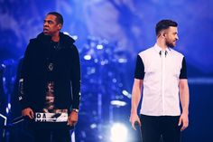"""Video: Justin Timberlake Brings out Jay Z for """"Holy Grail"""" at Barclays Center"""
