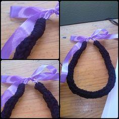 Negro + cinta malva Consulta precio