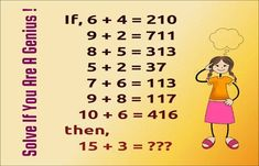 Number Puzzle If 6 4 210 9 2 711 8 5 313 5 2 37 7 6 113 Number Puzzles Tricky Questions Online Tutoring