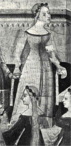 Retablo de la Virgen y San Jorge, Luis Borrassá, 1400.