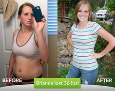 Click on picture to read Brianna's weight loss story!  #shipshapechallenge #shapeforlife #idealshape #idealshapesuccessstories