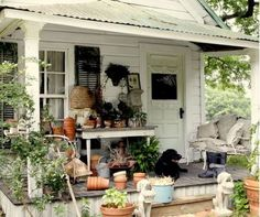 Carolyn Westbrook's Home, The Oaks, Is For Sale - this is the potting shed Beautiful Space, Beautiful Homes, Outdoor Spaces, Outdoor Decor, Outdoor Ideas, Outdoor Living, Sheds For Sale, Potting Tables, Old Houses For Sale