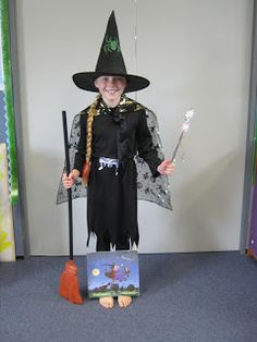 Room on the Broom fancy dress for World Book Day. World Book Day Ideas, Room On The Broom, Holiday Program, Dress Up Day, Fundraising Ideas, Eyfs, Fancy Dress, Childrens Books, Witch