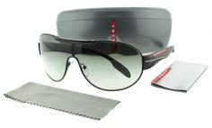 a794a126aa Prada Sunglasses SPS 56N BLACK 1B0-3M1 SPS56N
