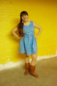 Wrench Dress by Roswitha Gugliotta-Kremer