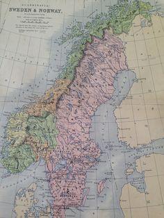 NETHERLANDS BELGIUM LUXEMBURG Original Antique Map - Sweden france map