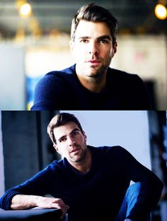 quirky handsome / zachary quinto