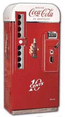 old fashioned Coke machines