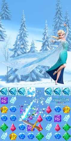 Looking for a new app game? Try the Frozen Free Fall App! iOS: click image, Android: http://di.sn/h01o