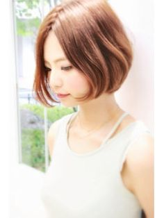 2015夏!人気の大人かわいいショートボブスタイル<髪型/ヘアカタログ> - NAVER まとめ