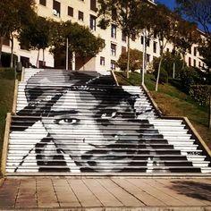 https://flic.kr/p/rUPa8L | #Graffiti en #Salamanca #hiphop #escaleras…