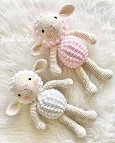 Diy Crafts - Mesmerizing Crochet an Amigurumi Rabbit Ideas. Lovely Crochet an Amigurumi Rabbit Ideas. Crochet Sheep, Crochet Baby Toys, Love Crochet, Crochet Patterns Amigurumi, Amigurumi Doll, Crochet Dolls, Baby Knitting, Amigurumi Tutorial, Crochet Animal Patterns